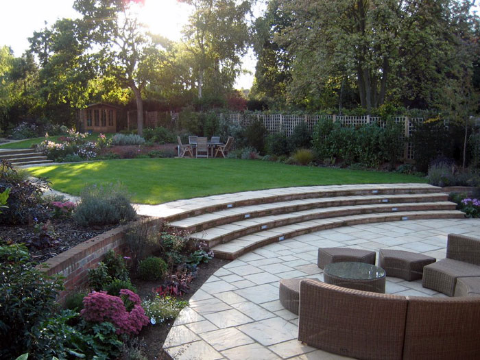 Christine lees garden design a garden in hertfordshire for Garden design hertfordshire