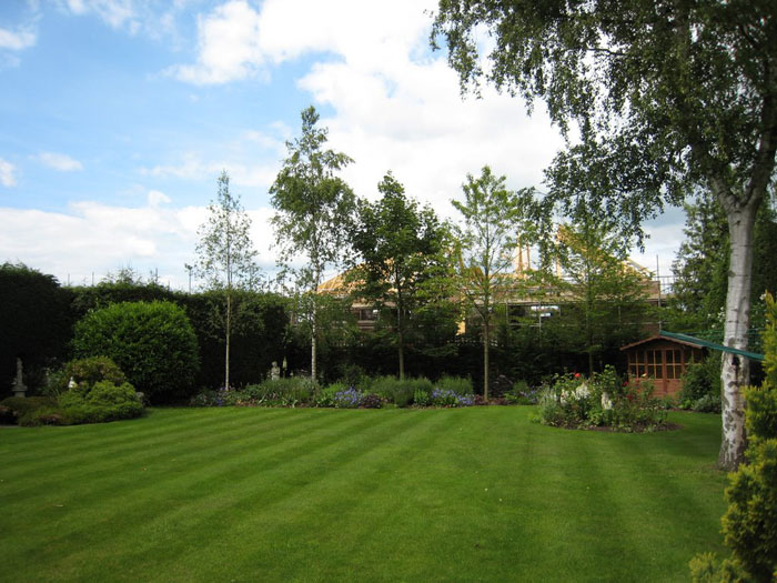 Christine Lees Garden Design - A Border for a Secluded Garden