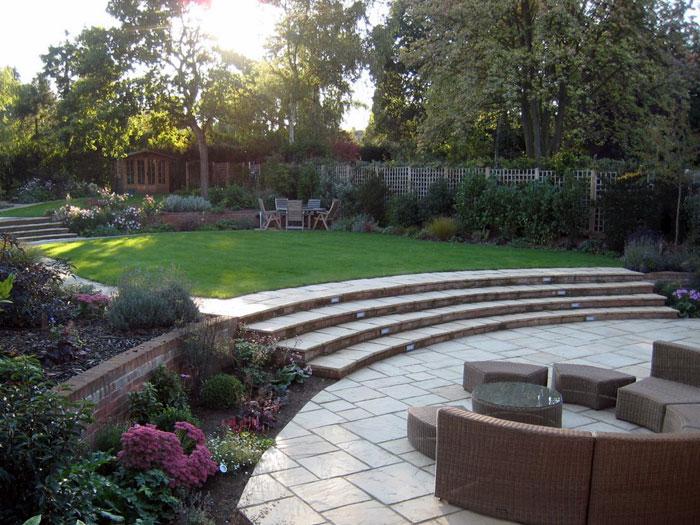 Christine Lees Garden Design A Garden In Hertfordshire